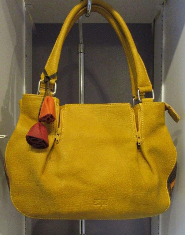 Large Yellow Handbag